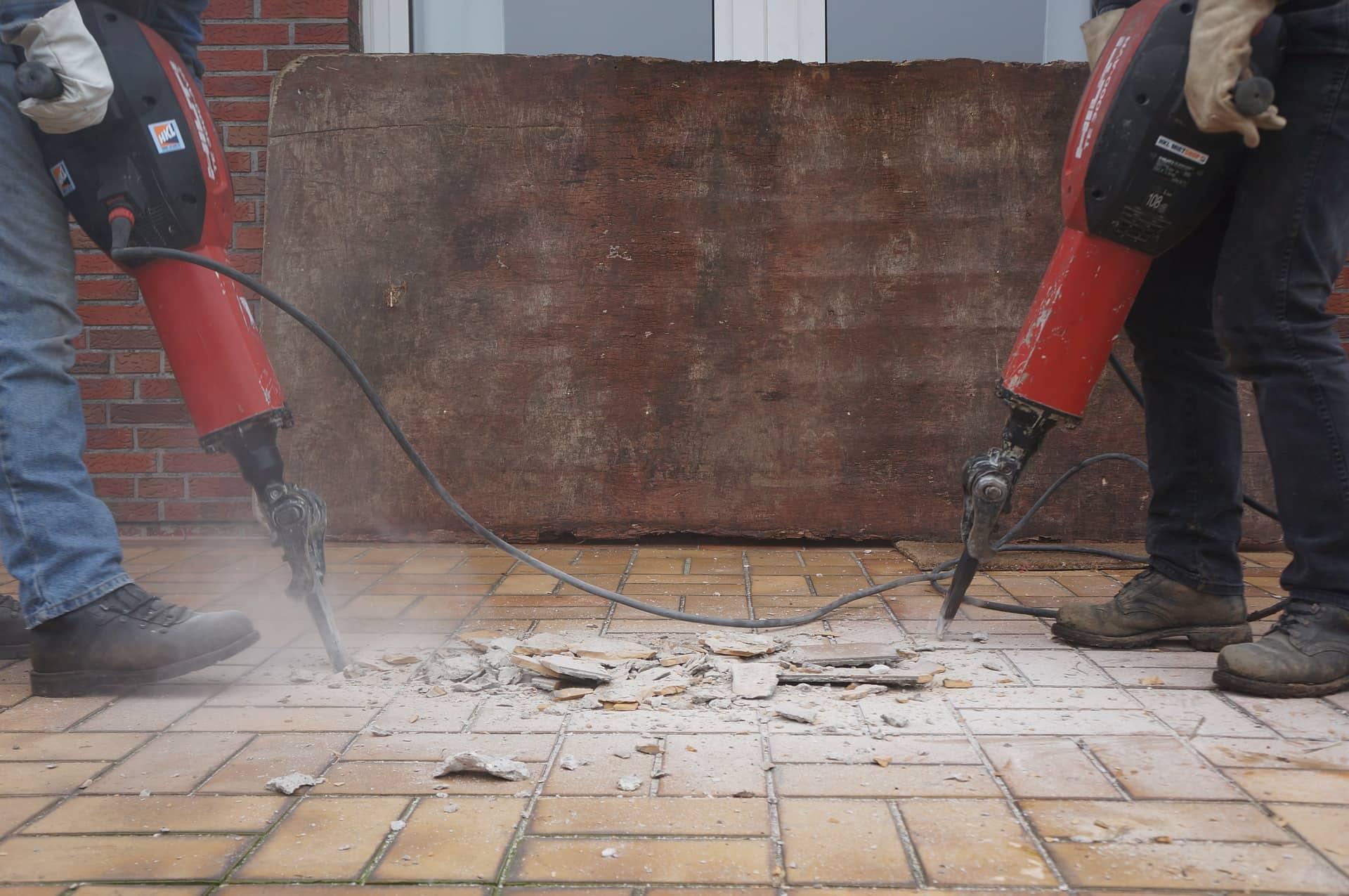 servizi di demolizione di ristrutturarcasa