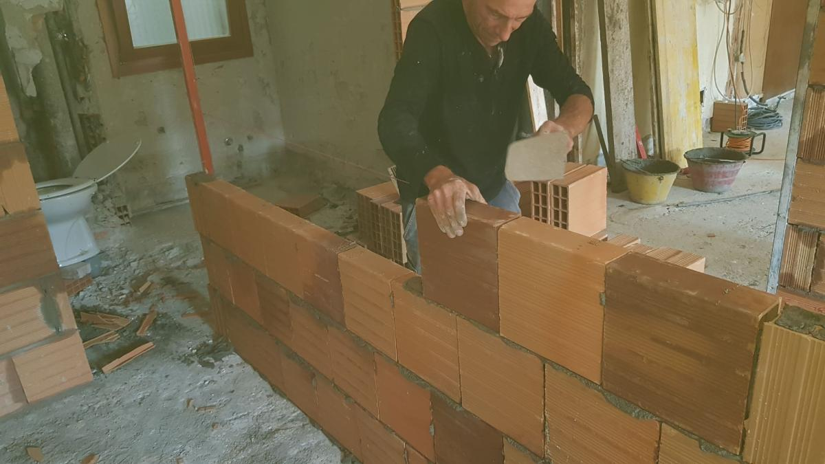 costruzione muri a Milano