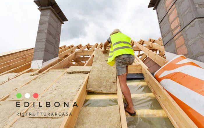 isolamento tetto superbonus 110%